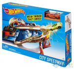 Hot Wheels Break Through Crazy Curves Pálya, (Mattel, DTN00)