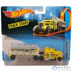 Hot Wheels Track Stars - Fuel and Fire kamion - Sárga (Mattel, BFM60)