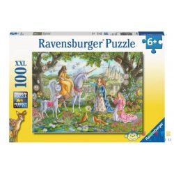 Ravensburger: Hercegnők 100 Darabos XXL Puzzle (TM, 10402)
