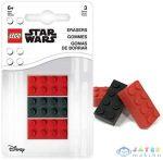 Star Wars Lego alakú radír 3 db (Lego, 52215)