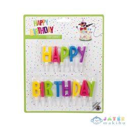 """Trendhaus """"Happy Birthday"""" betűk szülinapi gyertya szett, 2 féle (Kensho, 942869)"""