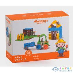 Mini Gofri Műanyag Építőjáték Szett - Nagy Farm (Marioinex , MX163)