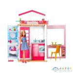 Barbie: 2 Szintes Ház Barbie Babával (Mattel, DVV48)