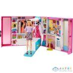 Barbie Fashionistas: Álomgardrób Szőke Hajú Babával És Kiegészítőkkel (Mattel, GBK10)