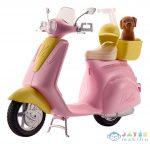 Barbie: Moped Kiskutyával (Mattel, FRP56)