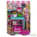 Barbie: Virágkötő Játékszett (Mattel, GTN58)