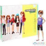 Creatable World: Vörös Hajú Öltöztethető Baba 12 Kiegészítővel (Mattel, GGG53)