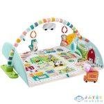 Fisher Price: 2 Az 1-Ben Óriás Városi Játszószőnyeg (Mattel, GJD41)
