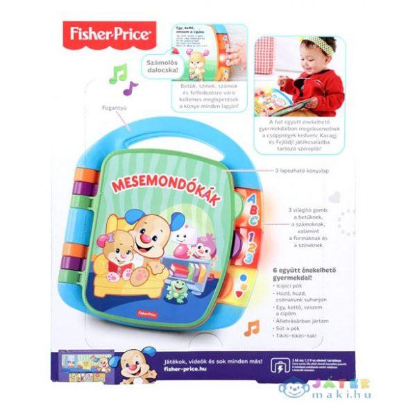 Fisher Price Daloló Mesekönyv (Mattel, CJW49)