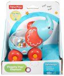 Fisher Price Poppity Guruló Csörgő Elefánt Bébijáték (Mattel, m-BGX29)