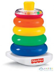 Fisher Price Színes Gyűrűpiramis (Mattel, FHC92,71050)