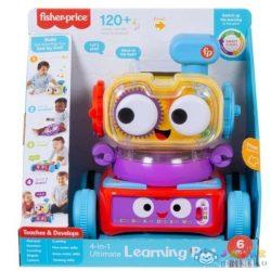 Fisher-Price: 4 Az 1-Ben Tanuló Robotpajti (Mattel, HCK44)