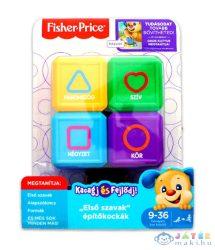 Fisher-Price: Első Szavak Kutyusos Építőkockák (Mattel, FJG30-k)