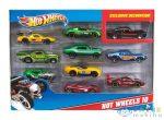 Hot Wheels: 10 Darabos Kisautó Készlet (Mattel, 54886)