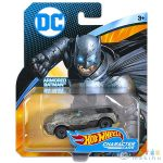 Hot Wheels Dc Karakter Kisautók: Armored Batman - Szürke (Mattel, DKJ66-AB)