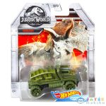 Hot Wheels Jurassic World: Triceratops Kisautó (Mattel, DMH73)