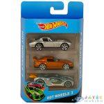 Hot Wheels: Kisautók - 3 Db-os Készlet - Különböző Színekben (Mattel, K5904)