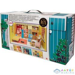 Mattel: 75. Évfordulós Retro Barbie Álomház És Kiegészítők (Mattel, GNC38)