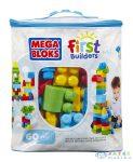 Mega Bloks: 60 Db Klasszikus Színű Építőkocka Táskában (Mattel, DCH55)