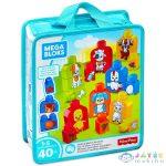 Mega Bloks: Háztáji Állatok Építőkocka Szett (Mattel, FLT36)