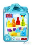 Mega Bloks: Tanuló Építőkockák (Mattel, CNH08)
