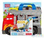 Mega Bloks: Versenypálya Szállítóautó (Mattel, CND68)