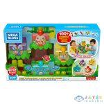 Mega Bloks: Zenebona A Dzsungelben Építőszett (Mattel, GGG11)