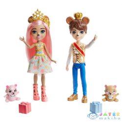 Royal Enchantimals: Királyi Medvepár - Braylee Bear És Brannon Bear (Mattel, GYJ07)