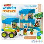 Fisher-Price - Wonder Makers: Úticélok - Tengerparti Bungaló (Mattel, GFJ11)