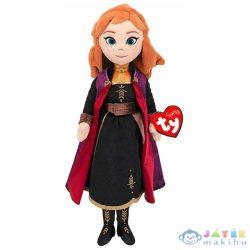 Ty Beanie Frozen 2: Anna Plüssfigura Hanggal - 40 Cm (Meteor, TY02407)