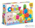 Clemmy Soft: 12 darabos puha építőkocka készlet (Clementoni, m-14706)