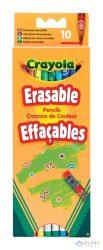 Crayola: 10 Db Radírvégű Színes Ceruza (Crayola, 3635)
