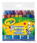 Crayola: 16 Db Különleges Hegyű Mosható Filctoll (Crayola, 58-8709)