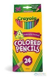 Crayola: 24 Db Extra Puha Színes Ceruza (Crayola, 3624)