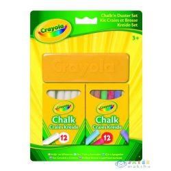 Crayola: 2 X 12 Db Pormentes Kréta Törlővel (Crayola, 98268)