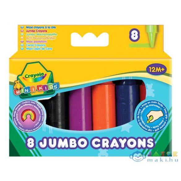 Crayola: 8 Db Színes Tömzsi Viaszkréta (Crayola, 80)