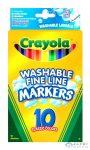 Crayola - Kimosható Vékony Filctoll - 8 Darabos (Crayola, m-58-8330)