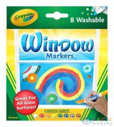Crayola: Ablakfestő Filctoll - 8 Db (Crayola, 58-8165)
