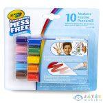 Crayola Color Wonder: Maszatmentes Filctoll Utántöltő 10 Darabos (Crayola, 75-2570)