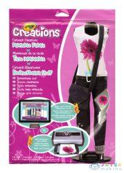 Crayola Creations: Divattervező Ruhamintázó Csomag (Crayola, 04-1201)