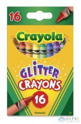 Crayola: Csillámos Viaszkréta - 16 Darabos (Crayola, 52-3716)