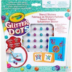 Crayola: Glitteres Dekorgyöngyök - Csodás Minták Készlet (MH, 04-0802)