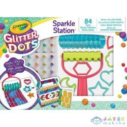 Crayola: Glitteres Dekorgyöngyök - Kreatív Csillámkészlet (MH, 04-0804)