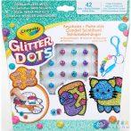 Crayola: Glitteres Dekorgyöngyök - Kulcstartó Készítő Készlet (MH, 04-0800)