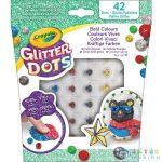 Crayola: Glitteres Dekorgyöngyök: Utántöltő Készlet (MH, 04-0803)