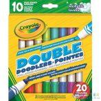 Crayola: Kétvégű, Színes Filckészlet - 10Db-os (MH, 58-8311)