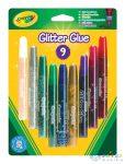 Crayola: Lemosható Csillámos Ragasztó - 9 Db (Crayola, 3542)