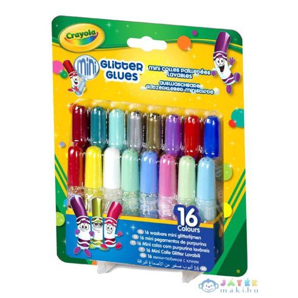 Crayola: Mini Csillámos Ragasztó 16Db (Crayola, m-69-4200)