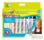 Crayola Mini Kids: 12 Db Tompa Hegyű Filctoll (Crayola, 8325)
