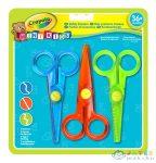 Crayola Mini Kids: 3 Db-Os Műanyag Olló Készlet (Crayola, 81-8119)